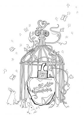 Coloriage lolita lempicka mademoiselle stef low