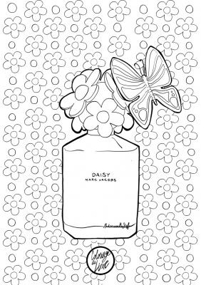 Coloriage marc jacobs mademoiselle stef low